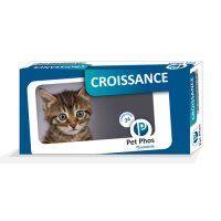 ♥ Pet-Phos Félin Croissance - Complément minéral et vitaminé - Sogeval / wanimo http://www.wanimo.com/fr/chats/friandise-complement-sc7/pet-phos-felin-sf801/