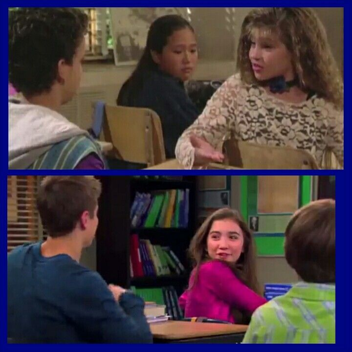"girl meets world charlie and lucas Now that 'girl meets world' has made the riley/lucas/maya love then agreed to go on a date of her own with charlie ""cheese soufflé."