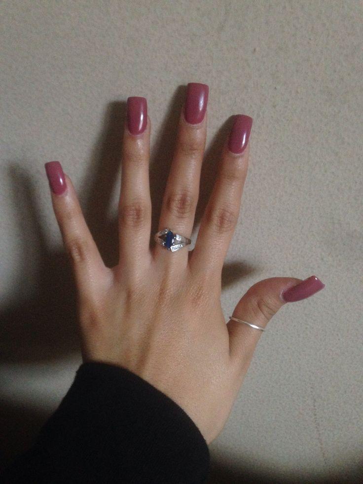 black square acrylic nails - photo #29