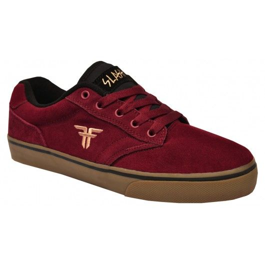 Fallen Slash black cordovan gum rouge bordeaux skate shoes pro-model Brian Hansen 79€ #fallen #roadlesstraveled #fallenroadlesstraveled #fallenfootwear #slash #skateshoes #chaussure #chaussures #shoes #skate #skateboard #skateboarding #streetshop #skateshop @PLAY Skateshop