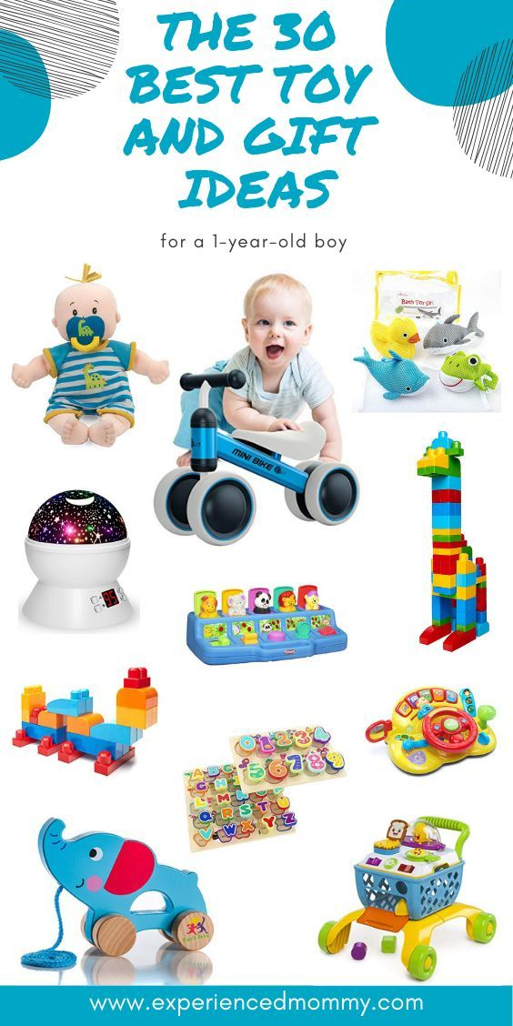The 30 Best Toy And Gift Ideas For A 1 Year Old Boy Your Tiny Bundle Of Joy Is Now Toys For 1 Year Old One Year Old Christmas Gifts 1 Year Old Christmas Gifts