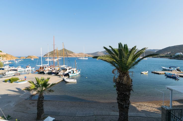 Here's how Grikos bay looks like from our ‪#‎seaview‬ rooms || ‪#‎silverbeach‬ ‪#‎patmos‬ ‪#‎grikospatmos‬ www.silver-beach.gr