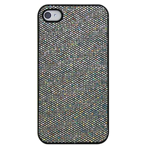 Exian Sparkling iPhone 4/4S Case (4G010) - Dark Silver                         - Web Only