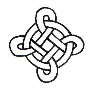 Celtic knot crown design | Simple Square Celtic Knots Celtic knot 002 by ppunker