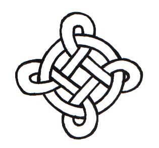 Celtic knot crown design | Simple Square Celtic Knots Celtic knot 002 by ppunker