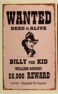 Wanted, Dead or Alive: Billy the Kid