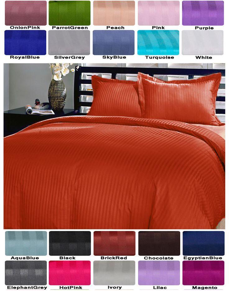 Duvet Set with Pillow Shams! Full Queen King CalKing very Soft 3 piece Duvet Set #Scala #Contemporary