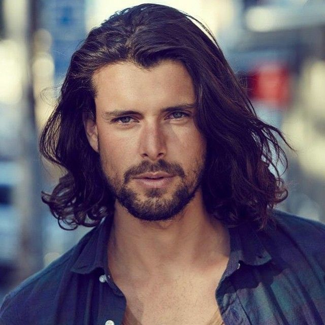 nice 55 Charming Shoulder Length Hairstyles for Men Check more at http://machohairstyles.com/shoulder-length-hairstyles/