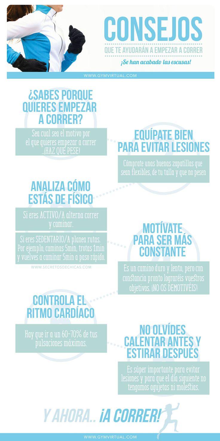 Consejos que te ayudar n a empezar a correr gym virtual