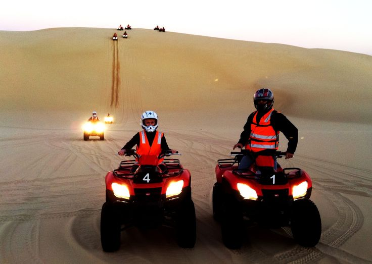 Twilight tours.... Having an awesome ride with Steve, Annie & the gang! Check out the size of those Dunes!!!