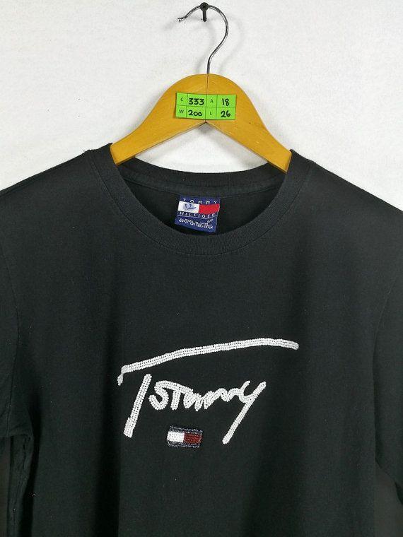 Vintage chemise TOMMY HILFIGER chemise par CaptClothingVintage