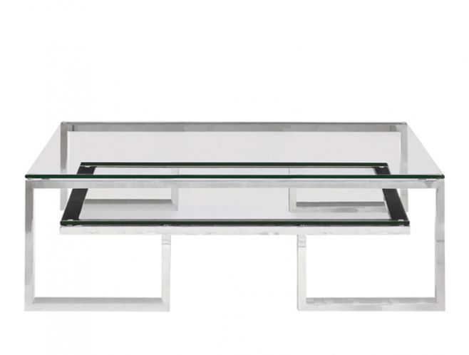 Bernhardt Interiors Imperial Cocktail Table Side View
