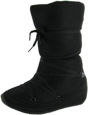 Lacoste Arbonne Ski 6 Women's Snow Lace Up Winter Boots Black Size 9 Lacoste. $99.99