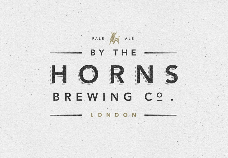 ...: Design Inspiration, Logos, Graphic Design, Logo Design, Branding, Graphics, Horns Brewing, Typography, Graphic Projects