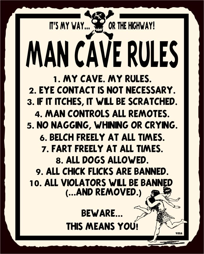 Man Cave Rules Artwork : Best images about funny retro tin signs on pinterest