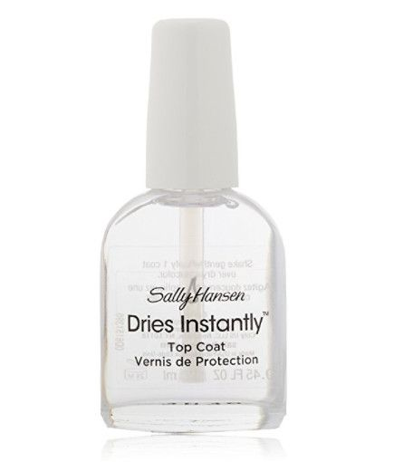 Sally Hansen Dries Instantly Top Coat - Amazon Beauty Products Every Lazy Girl Needs - Photos