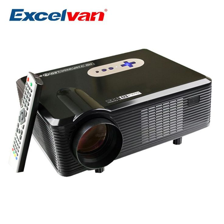 Excelvan CL720D Projector 3000 Lumens Support 1080P HD Home Theater 720P Led Projector HDMI / VGA/ USB/ AV /DTV Projector //Price: $227.66//     #Gadget