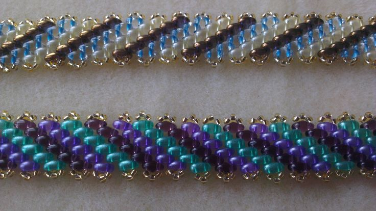 FREE Tutorial on How to Make Diagonal Peyote Stitch #Seed #Bead #Tutorials