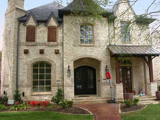 Plan 36292TX: Old World Charm