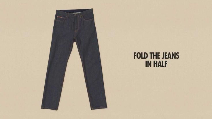 Louis Vuitton Presents the Art of Packing - Folding Jeans