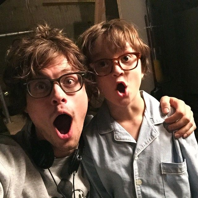 """""""so excited about that time machine I found in the woods that let me travel into the future to direct myself on an episode of criminal minds"""" MGG"""