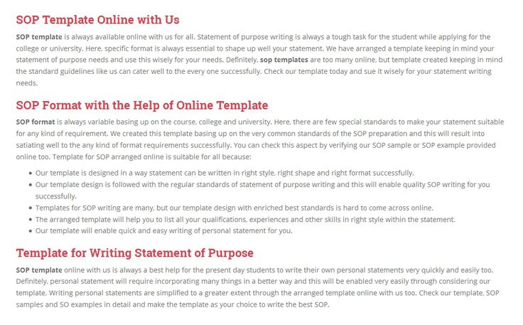 Wow Great This Is A Very Helpfully Site For Sop Template Http