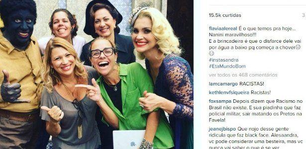 Foto com Marco Nanini fazendo black face em novela causa polêmica nas redes sociais