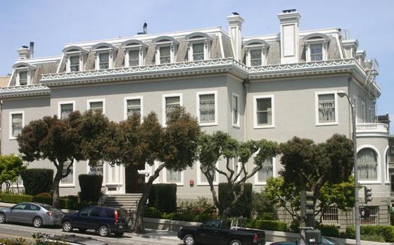 The archbishop 39 s mansion san francisco haunted hotels for San francisco haunted hotel