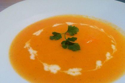 Möhren - Orangen - Ingwer- Suppe (Rezept mit Bild) | Chefkoch.de