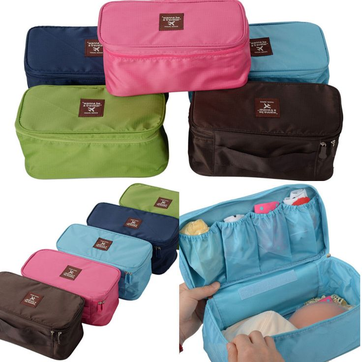 HOT hygienic Travel Bag Underwear Pouch Bra Holder Storage Bag Organizer Handbag #Newlook #TotesShoppers