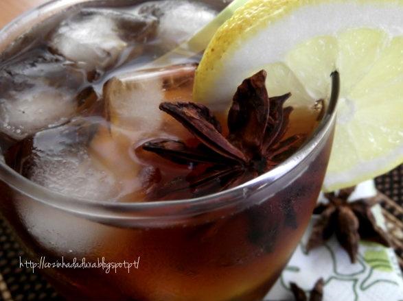 Ice tea deliciously refreshing