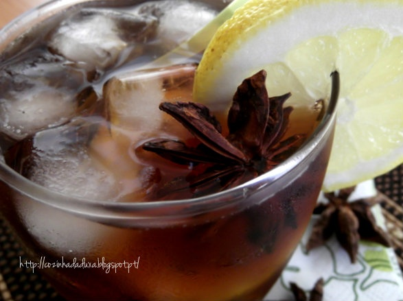 Ice tea deliciously refreshing