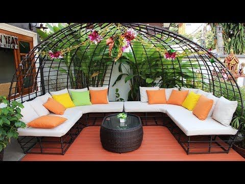 Modern Outdoor Seating Ideas |  Best Homes and Gardens tips