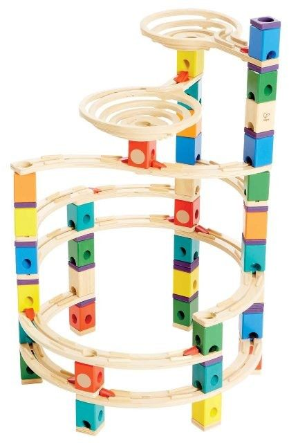 Flashback to my past, I need this in my life!! Quadrilla Marble Run - The Cyclone Set (Twist) #EntropyWishList #PinToWin