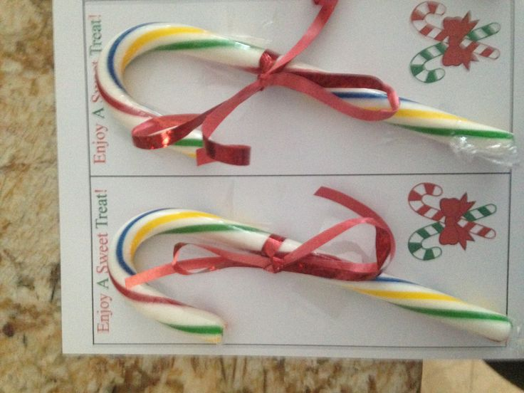 Candy cane gram | Candy grams | Candy grams, Candy, Christmas