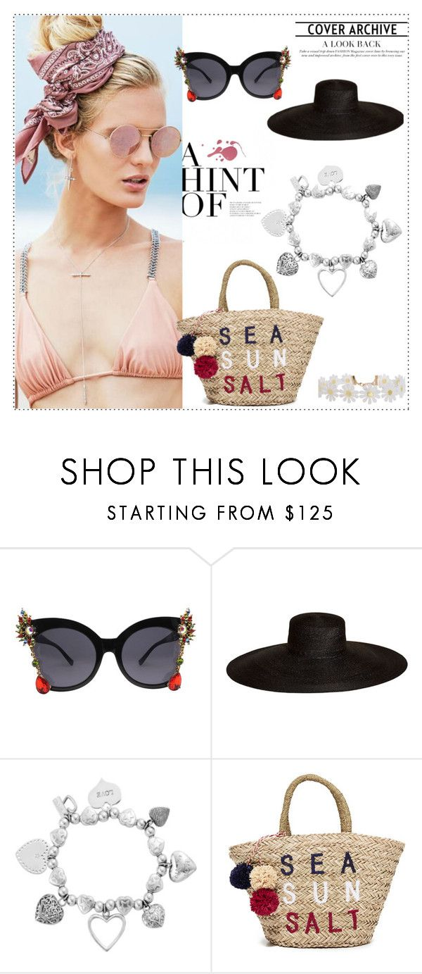 """""""Untitled #5"""" by jasmina1-1 ❤ liked on Polyvore featuring Beach Riot, Samuji, ChloBo, Sundry and Humble Chic"""