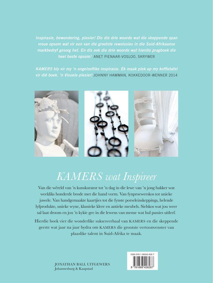 KAMERS wat Inspireer - Koffietafelboek deur Isabella Niehaus met foto's deur Lizl Dreijer