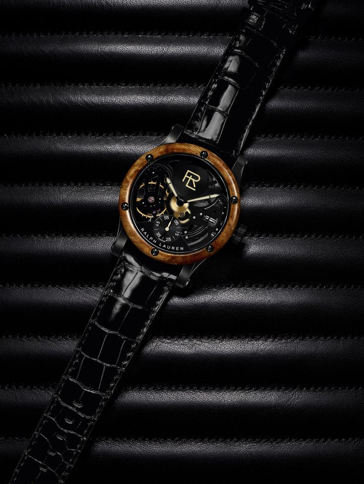 Ralph Lauren Automotive Skeleton – luxusní hodinky ze světa haute couture | Luxurio.cz  Bugatti Type 57SC Atlantic Coupe