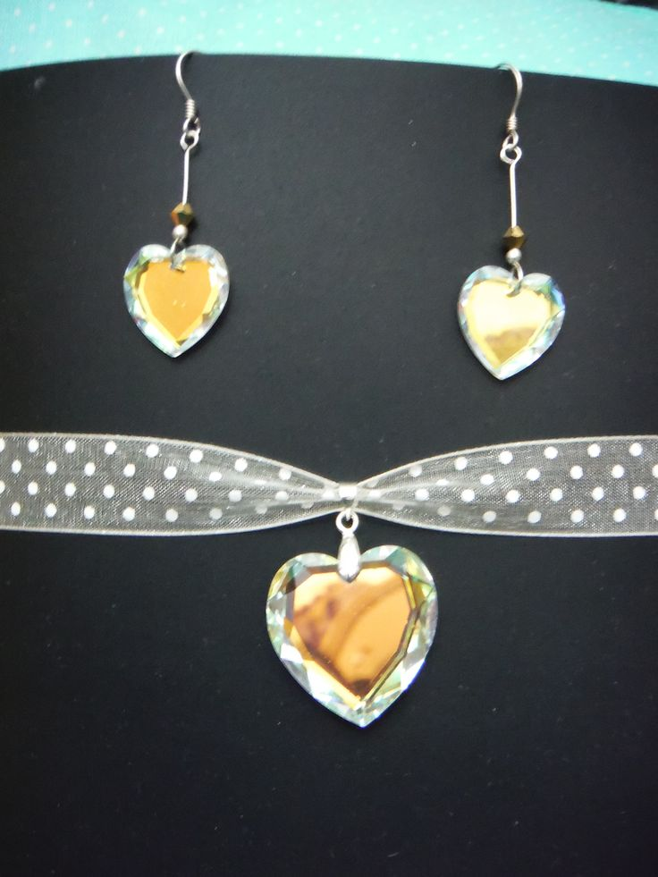 Set Carolina - Cristal, plata y liston https://www.kichink.com/stores/celesth#.VQFn6fmG_pU