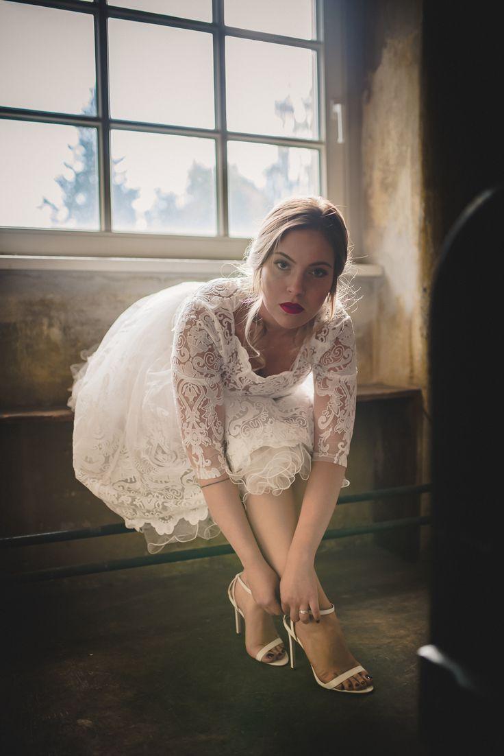 Spannende Momente vor der Hochzeit. Wunderschönes Bild - mein Favorit aus der Serie.