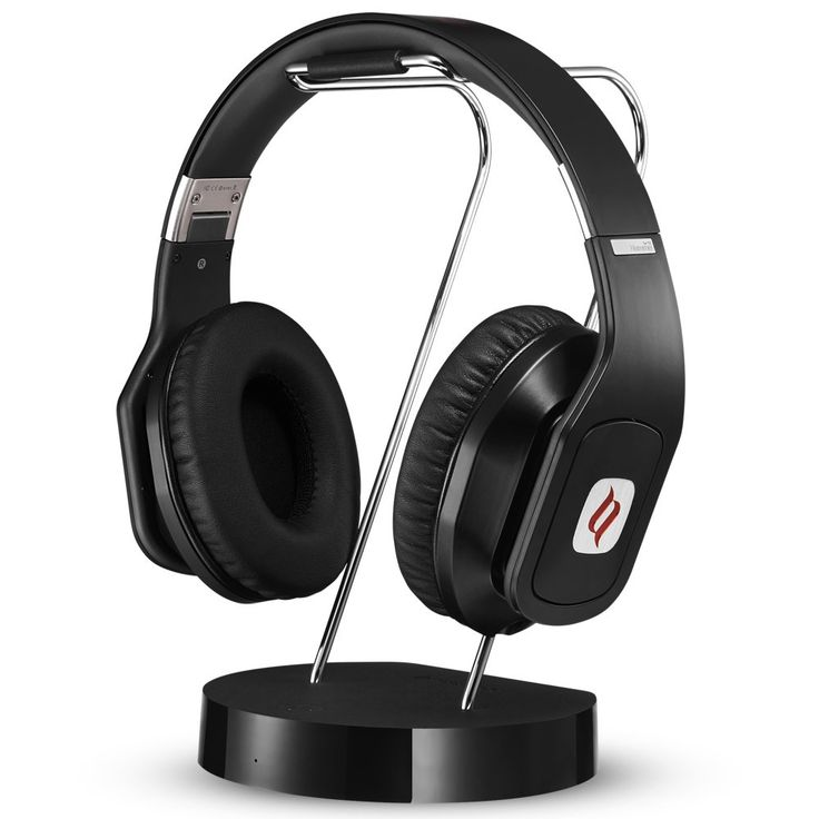 Noontec Hammo TV Wireless Headphones for TV with Docking Station Low-latency Digital Bluetooth Anti-interference 50 Hours Long Battery Life
