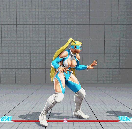 SFV Rainbow Mika