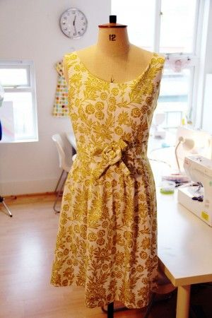 Make a dress at Fashion Antidote