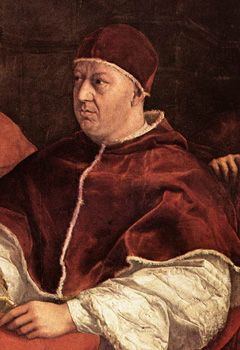 Pope Leo X (Pontificate 1513-21) He was born Giovanni de' Medici, a Florentine, and as pope he promoted the return of the Medici to power in Florence. He was the second son of Lorenzo the Magnificent, and groomed for high ecclesiastical office from a young age. He was a keen humanist, and attracted distinguished scholars and writers to the papal court. His renewal of Julius II's policy of issuing indulgences, to provide for rebuilding St. Peter's Basilica, led to Luther's protest in…