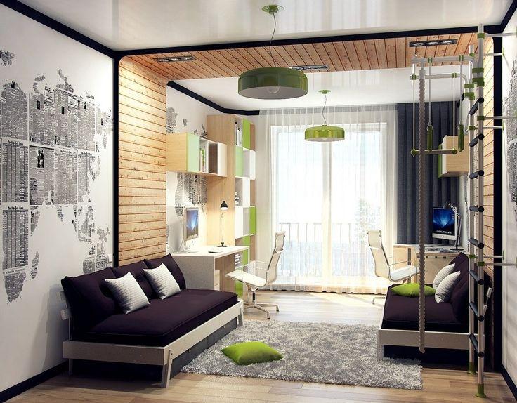 Детская комната для мальчика - Дизайн интерьеров | Идеи вашего дома | Lodgers
