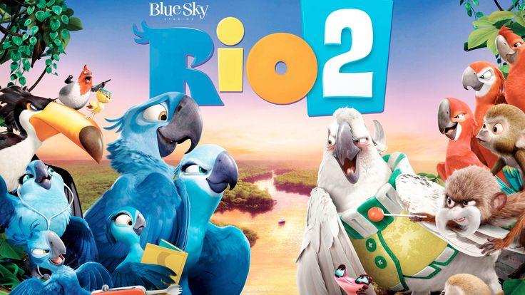 rio 2 movie banner HD Background