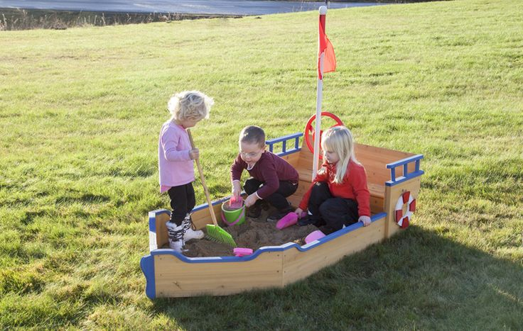 Sandlåda båt