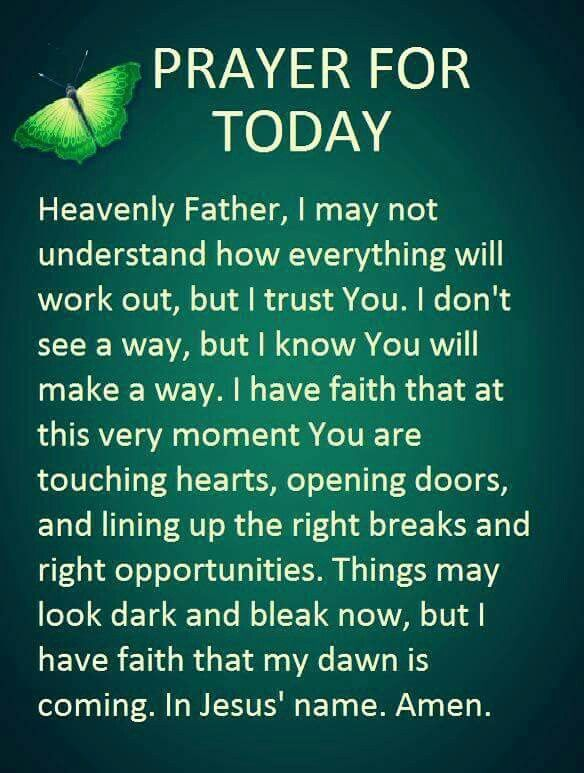 Todays Prayer Quotes Alluring 355 Best Prayers Images On Pinterest  Prayers Breast Cancer And