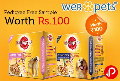 Pedigree offers Free Sample Worth Rs. 100. Get you free pedigree sample now. See 5 signs of good health in just 6 weeks. We're for dogs.  http://www.paisebachaoindia.com/pedigree-free-sample-worth-rs-100-wer4pets/