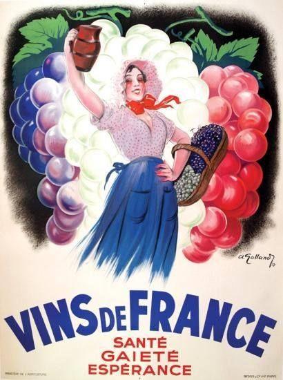Affiche de 1937 d'andré Galland (1886- 1965) .André Galland est un peintre ,illustrateur et affichiste qui a crée de nombreuses affiches ferroviaires ,pendant la guerre de 39 - 45 ,il conçoit des affiches pour la presse collaborationniste et le gouvernement de Vichy et a la fin du conflit participe a de nombreux journaux de la Résistance comme le Parisien Libéré (Rail-Story)